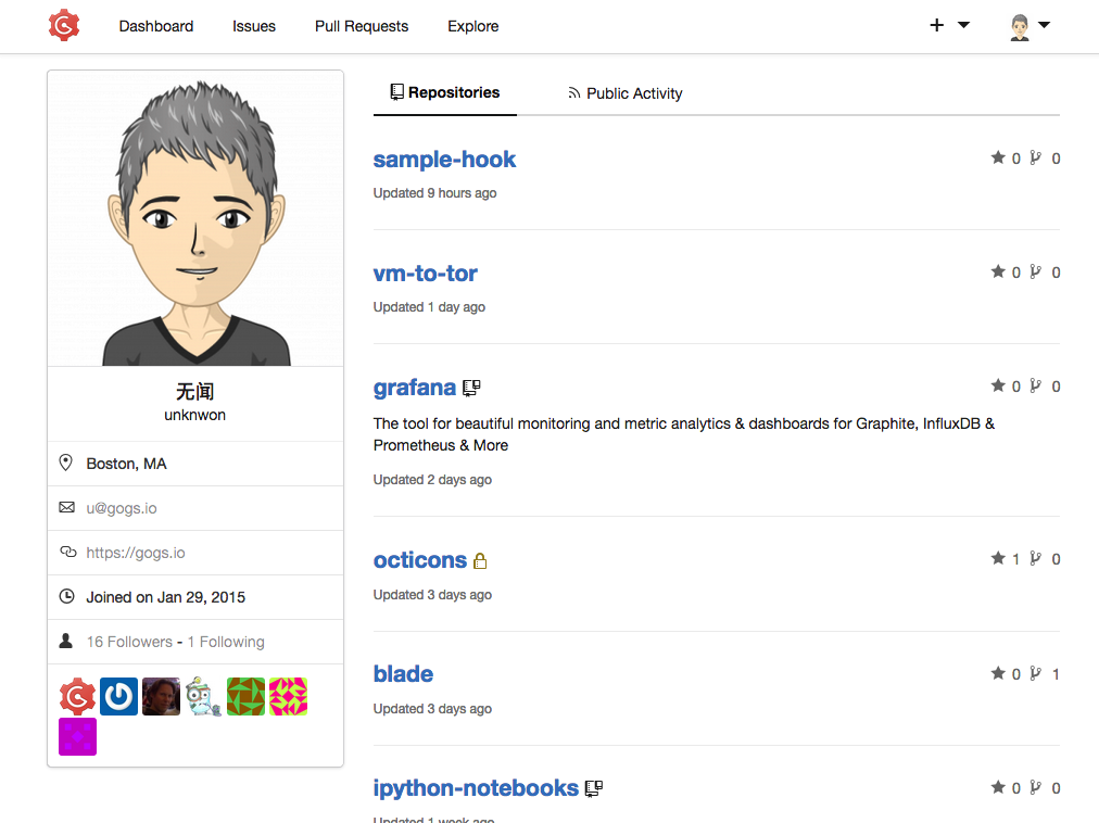 metagit/gitea: Git with a cup of tea, painless self-hosted